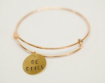 Be Still Bracelet-Gold