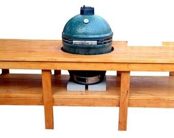 Big Manu0027s Green Egg Table