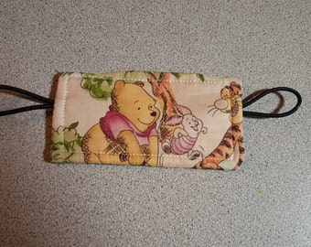 Winnie the Pooh Door Muff Silencer Jammer / Latch Cover / Disney Nursery / Gender Neutral Baby Boy or Girl Shower Gift / Tigger Piglet