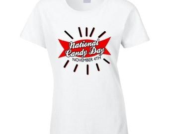 National Candy Day Fun November 4th Celebration T Shirt