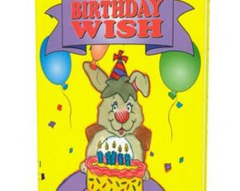 Personalized Book  My Birthday Wish  Introductory Offer