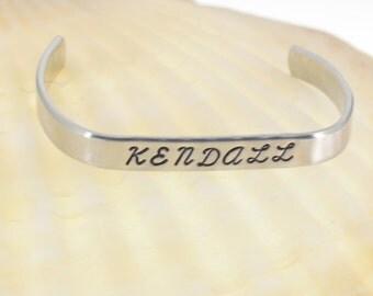 Little girl's name bracelet.  Personalized gift.  Name Bracelet.  Little Girl's Jewelry.