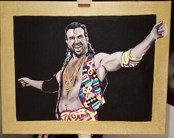 WWE Wrestling Razor Ramon Print