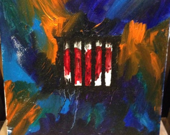 This Caged Heart - Oil Painting
