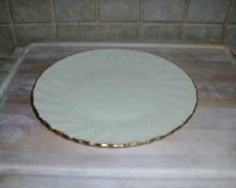 Vintage Lenox gold trim 10 inch plate