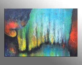 Abstract Oil Painting, Canvas Art, Abstract Wall Art, Original Abstract Painting, Large Oil Painting, Canvas Painting, Oil Painting, Huge