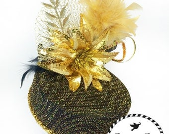 Black and Gold Party Hat