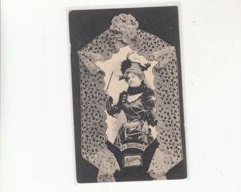 C1905 Undivided Back Antique Postcard-Tytpes Of Lace-Les Dentellers-Renaissance