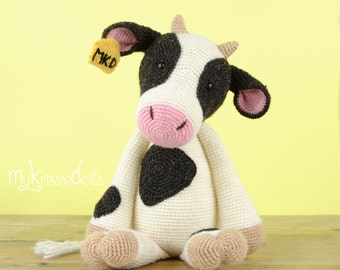 Crochet Pattern - COW