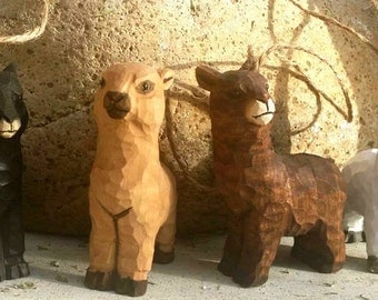 Alpaca Christmas Ornaments - Set of 4 - A Whole Herd!