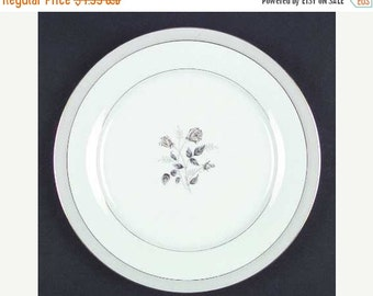 ON SALE Noritake HOLBROOK Gold 5635 Salad Plate(s) Roses Dinnerware Excellent Condition 8 1/4""