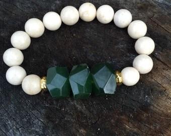 Olive Pop of color bracelet