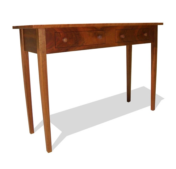 Foyer Table Cherry : Items similar to shaker style solid cherry foyer hall