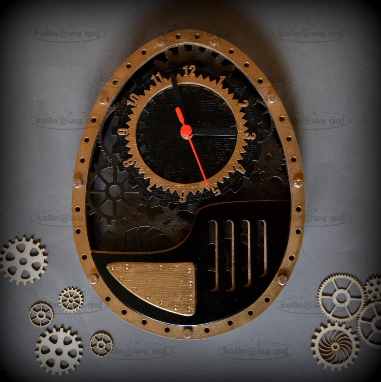 SALE Clock steampunk home decor wedding gift Clock