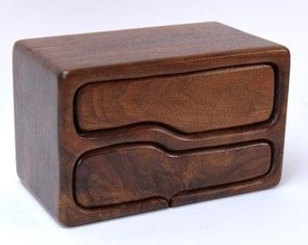 Vintage Mid Century Modern Biomorphic Jewelry Trinket Box