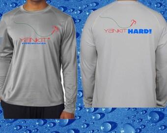 Gray Yankit Hard! Performance Shirt