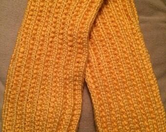 Handmade Yellow Scarf
