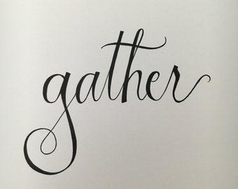 Gather - Digital File