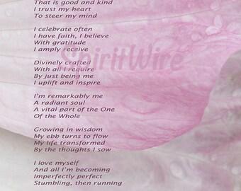Life Unfolding Poem by Dan Coppersmith, Uplifting Poem & Photography, Inspirational Poem, Spiritual Poem