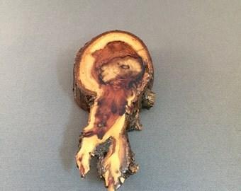 Reclaimed Redwood Magnet