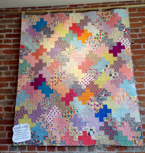 Gene Pool Gardenvale Quilt Kit With Fabrics From Jen