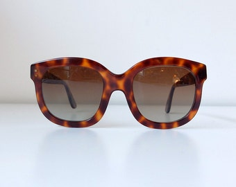 Vintage EK Emmanuelle Khanh 6480 Sunglasses Made in France
