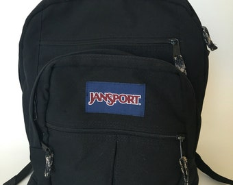 Jansport backpack classic black throwback