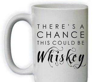 20% OFF NOW Funny Coffee Mug - There's A Change This Could Be Whisky Coffee Mug (Sub_Coffee15_ThisMightBe_102)