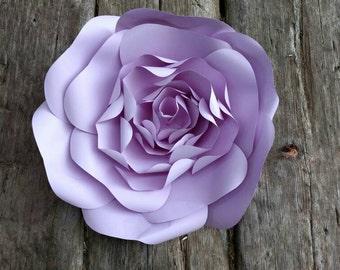 40cm GIANT PAPER FLOWER 40cm diameter Pale Purple Anemone Rose 706-043 for Wedding Photo Backdrop