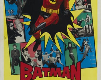 Adam West - Batman / Lee Meriwether - Catwoman / Frank Gorshin - Riddler / Burgess Meredith - Penguin / Burt Ward -Robin Batman Movie Poster