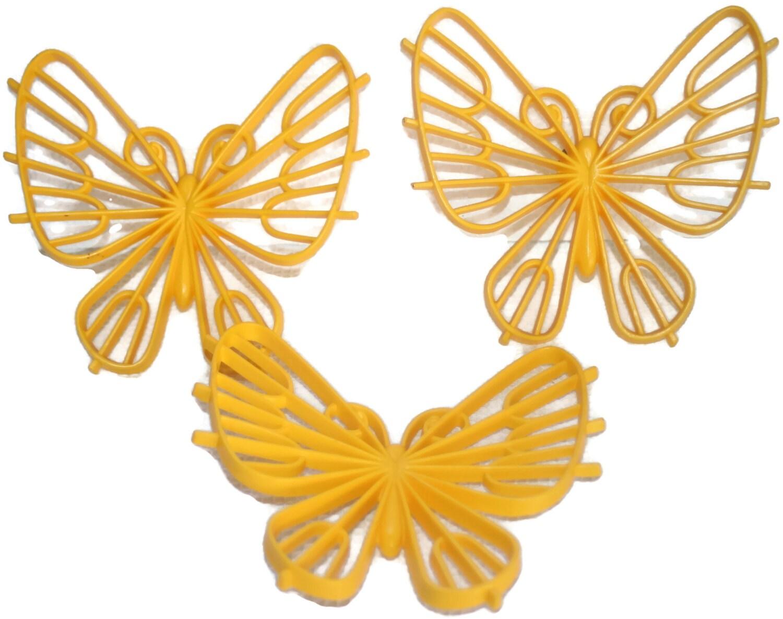 Plastic Butterfly Wall Art - Elitflat