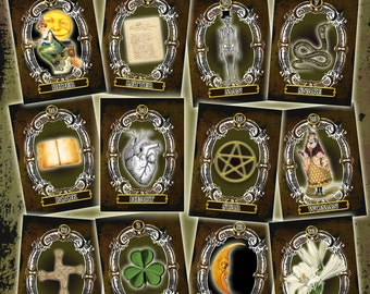 The Witchy Lennies Lenormand Card Deck