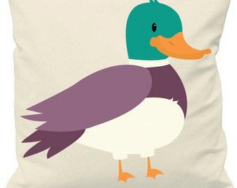 Duck Print Cushion