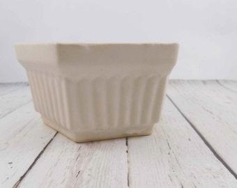 RRP,Ceramic Planter,Roseville O pottery,hexagon,vintage,planter pot,flower pot,pottery,roseville planter,handmade pottery,succulent pot,pots