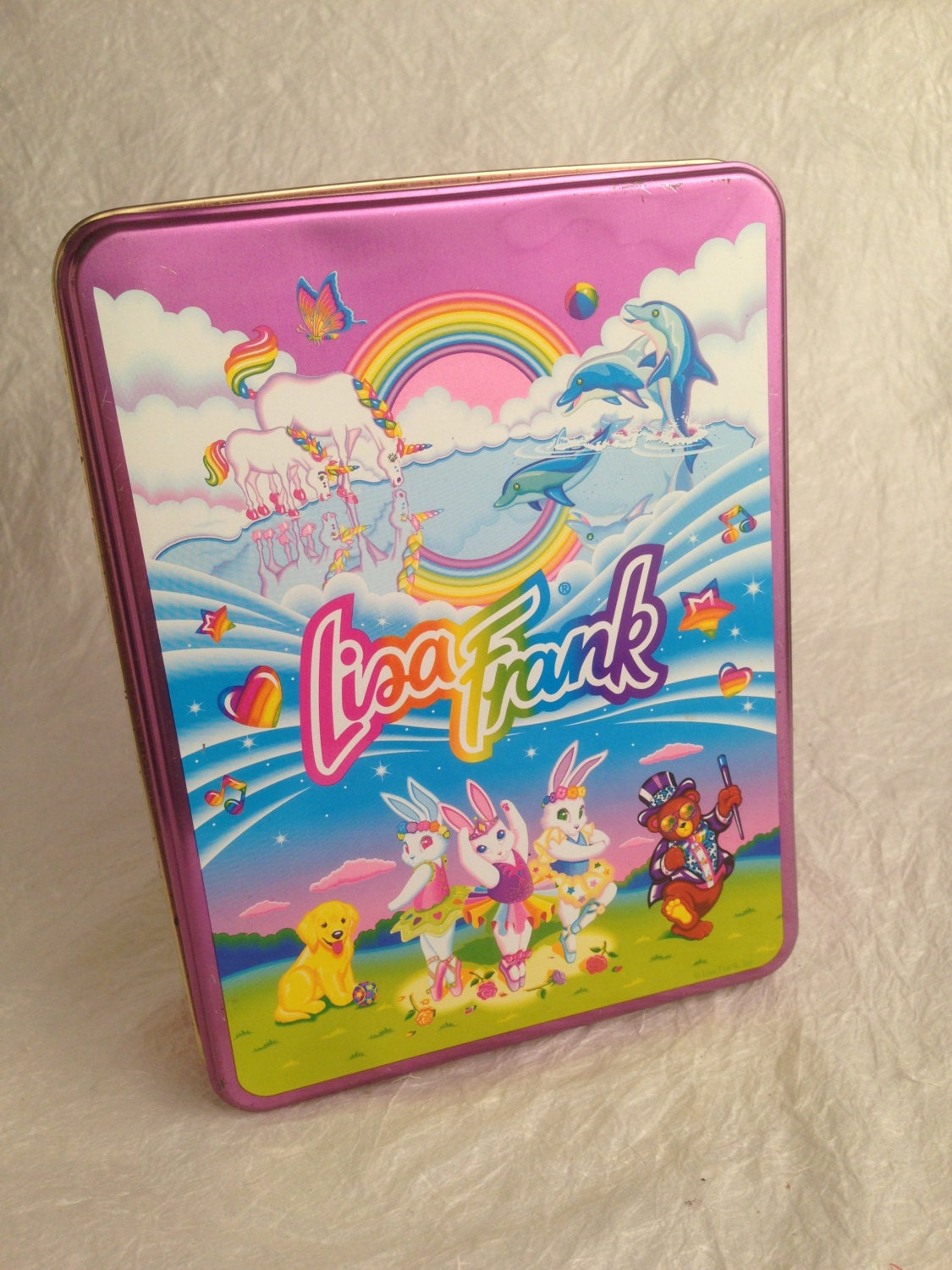 Frankly Collectible: Lisa Frank Collectible Tin