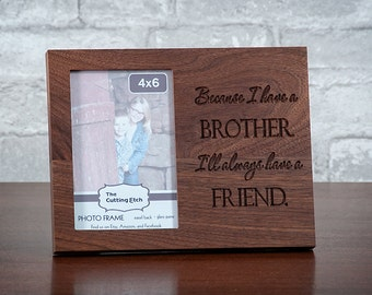 Brother Photo Frame, Sibling Picture Frame, Sisters, Sister and Brother, Brothers