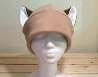 Siamese Cat - Siamese Ear Hat - Cat Ear Hat - Cat Hat - Cat Beanie - Cat Cosplay - Anime Hat - snowboarding Hat - Siamese Hat - Cat Costume