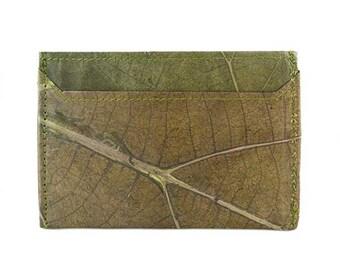 Real Leaf Cardholder