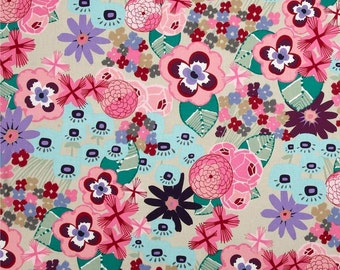 Alexander Henry Fabric, 1/4 metre or more, floral fabric, online fabric Australia
