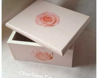 Rose Decoupage box