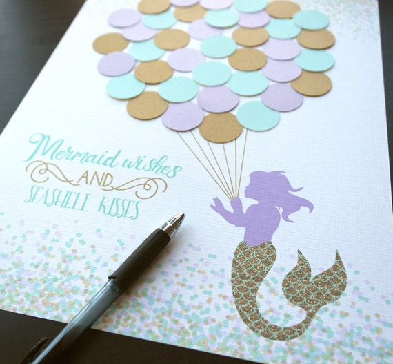 mermaid baby shower decor aqua mermaid shower decorations teal and