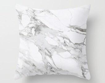 Carrara Marble Pillow