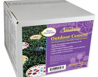 Jennifer's Mosaics Outdoor Cement-20 lb-Mosaic Grout-Mosaic Supplies