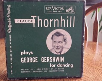 Claude Thornhill plays George Gershwin for dancing