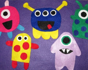 Five Little Monsters Felt Board Story