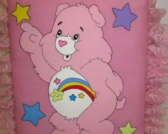 Care Bear Handmade Fabric Covered Photo Album