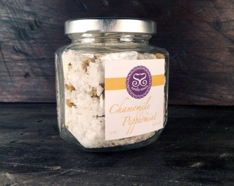 Chamomile & Peppermint Bath Salts
