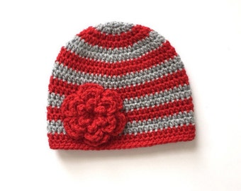 Ohio State Hat OSU Baby Toddler Child Adult Womens Buckeyes Beanie
