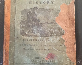 The First Book of History [Hardcover] [1844 edition] Charles H. Hendee