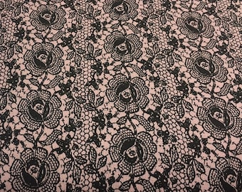 Lady Claire Pink Floral from Blank Quilting by the yard